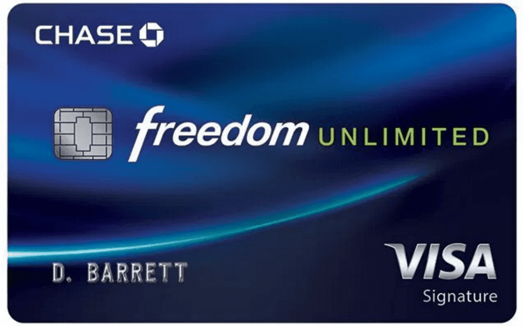 Chase Freedom Unlimited review